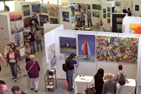 Kunstausstellung Stormart